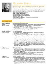 Senior IT Operations Engineer Resume Template