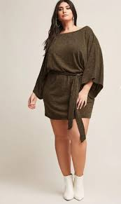 Keep It Cozy And Cute In These 23 Plus Size Sweater Dresses
