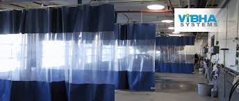Ceiling Mount Curtain Track India by Industrial Curtain Walls Archives Randall Warehouse Solutions Dust