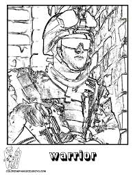 Army Coloring Pages Freemilitary Printable Military Page Free Book