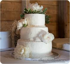Sparkly Rustic Sugar Coated Wedding Cake