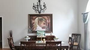 Dining Room Painted With Color Match Of Gray Owl