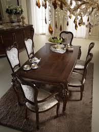 klassische 6 stühle designer stühle italienische esszimmer möbel holz garnitur