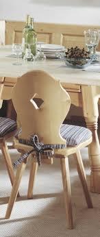 stuhl kufstein esszimmerstuhl im landhausstil fichte massiv lackiert