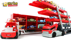 100 Lightning Mcqueen Truck Learning Color Special Disney Pixar Cars McQueen Mack