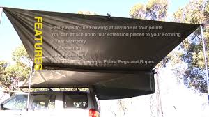 Rhino-Rack | Rhino-Rack And Oztent Present The Foxwing Part 5 ... 4wd 4x4 Fox Sky Bat Supa Wing Wrap Around Awning 2100mm Australian Stand Easy Awning Side Wall Demstration By Supa Peg Youtube Foxwingstyle Awning For 180ship Expedition Portal Hawkwing 2 Direct4x4 Vehicle Side 2m X 3m Supapeg Ecorv Car Horse Drifta 270 Degree Rapid Wing Review Wa Camping Adventures Supa Australian Made Caravan Australia Items In Store On View All Buy It 44 Perth Action Accsories Equipment 4