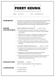 CV Sample – Project Manager (Electronic/Electrical ... Product Manager Resume Example And Guide For 20 Best Livecareer Bakery Production Sample Cv English Mplate Writing A Resume Raptorredminico Traffic And Lovely Food Inventory Control Manager Sample Of 12 Top 8 Production Samples 20 Biznesasistentcom
