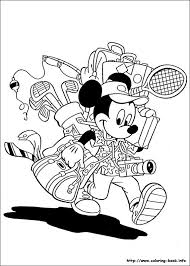 Free Disney Mickey Mouse And Friends Coloring Pages All About For Kids