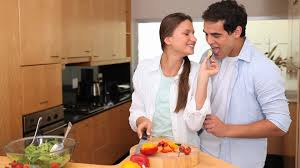 couples amour cuisine cooking hd stock 773 027 302 framepool