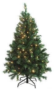 45 Pre Lit Green Cedar Pine Artificial Christmas Tree
