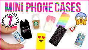 7 DIY Miniature Phone Cases HOT GLUE PHONE CASE