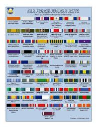 Air Force JROTC Ribbon Rack Builder