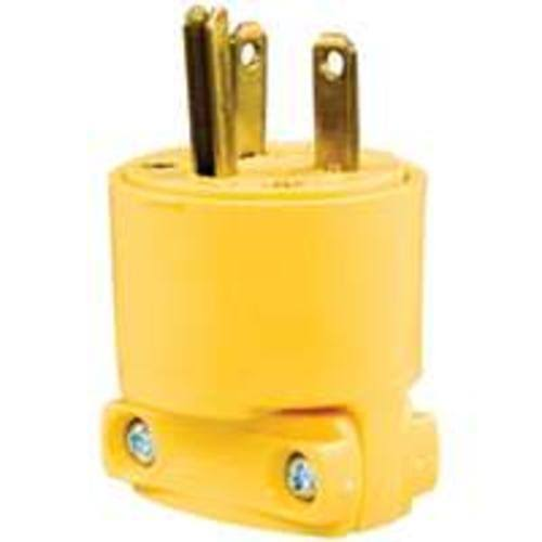 Cooper Wiring Devices Armored 3 Wire - Yellow. 2-A