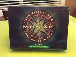 SEALED Who Wants To Be A Millionaire Board Game
