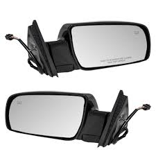100 Side View Mirrors For Trucks Amazoncom Driver And Passenger Power Heated