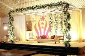 Wedding Stages Decoration Stage Simple Ideas