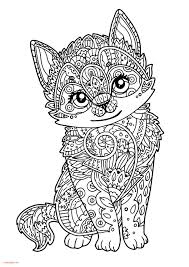Coloriage Animaux Difficile Chat Bondless
