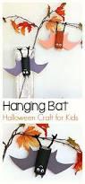Halloween Books For Kindergarten To Make by Halloween Craft For Kids Hanging Bat Art Project Using Cardboard