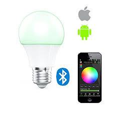 best e27 wireless bluetooth dimming led light bulb sync