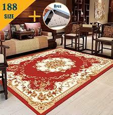 de hrui teppich groß für wohnzimmer kurzes haar