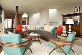 Spectacular Retro Living Room Decor On Inspiration To Remodel Home With