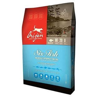 Orijen 6 Fish Dog Dry Food - 2.27kg