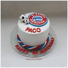 fc bayern münchen fondant torte