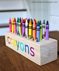 DIY Crayon Holder Plus 25 Other Woodworking Projects For Kids