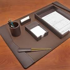 Leather Desk Blotters And Accessories by Executive Desk Blotter Sets Hungrylikekevin Com