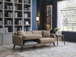 multifunktions sofa in einer box flexy sofa sofainbox taupe