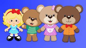 Goldilocks The 3 Bears Story For Children Plus More