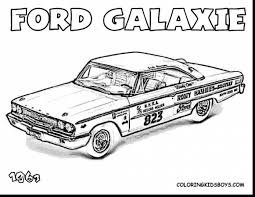 Remarkable Hot Rods Muscle Cars Coloring Pages With Rod And