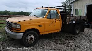 100 Ford F350 Dump Truck 1994 Dump Flatbed Pickup Truck Item DD1697 SOL
