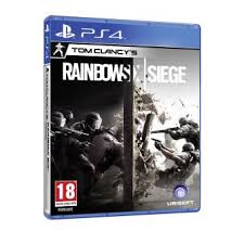 siege de jeux rainbow six siege ps4 sur playstation 4 jeux vidéo fnac