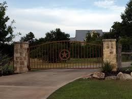 Landscape Gates Entrances Texas