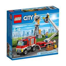 100 Lego City Tow Truck Cek Harga LEGO 60111 Fire Utility Mainan Blok Puzzle