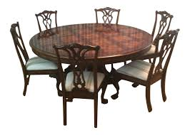 Hooker Furniture Grandeur Series Cherry And Ash Dining Table And ... 90 Off Bernhardt Embassy Row Cherry Carved Wood Ding Darby Home Co Beesley 9 Piece Buttmilkcherry Set 12 Seater Cherrywood Table And Chairs Christophe Living Fniture Of America Brennan 5piece Round Brown Natural Design Ideas Solid Room House Craft Expandable Art Deco With Twelve 5 Wayfair Wood Ding Set In Ol10 Rochdale For 19900 Sale Shpock Regular Height 30 Inch High Table Black Kitchen Sets For 6 Aspenhome Cambridge 7pc Counter Leg