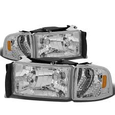 94-01 Dodge RAM 1500 2500 3500 OEM Style Crystal Headlights - Chrome ... Chrysler Dodge Jeep And Ram Auto Parts In Greater Cold Lake Oil Temperature Gauge Left A Pillar 5029717aa Oem Ram Srt10 Morimoto Xb Led Headlight Kit Your Edmton Dealer Fiat Stock Size Extended Sway Bar Links Maxxlinks By Suspensionmaxx 2003 03 2500 Slt Quality Used Replacement Capital Ab New Car Mdstriborslightdutydieseldodgeram Md Distributors Diesel Pickup Fuel Filter Line From Kn Meets Truck Catalog Agendadepaznarinocom Briggs Fiat Dealership Topeka Mercedes Benz Miami Unique Oem 98 Ml320 Rear