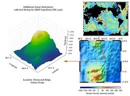 Evidence For Seafloor Spreading Comes From by Geogarage Blog New Map Exposes Previously Unseen Details Of Seafloor