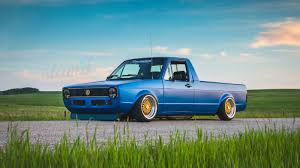 100 Vw Rabbit Truck For Sale Built To Drive The Dub Dynasty 1981 VW Caddy Slamd Mag