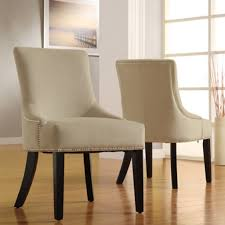 Upholstered Dining Chairs With Nailheads by Upholstered Chairs Dining Room Upholstered Dining Room Chairs