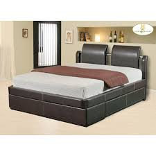 platform bed with drawers plans design ideas