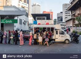 100 Where To Buy Food Trucks Customers Line Up To Buy Food At A Food Truck In Kuala