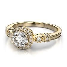 In Yellow Gold Diamond Wedding Rings More Than Beautiful