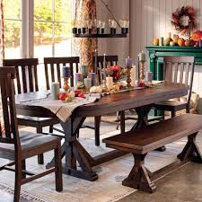 Dining Room Table Leaf Replacement by Rustic Brown Oval Wood Brooklynn Extension Dining Table World Market