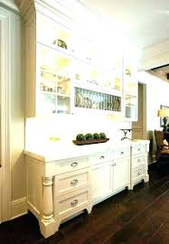 Dining Room Built In Buffet Ins Cabinets