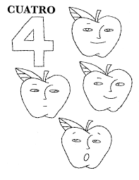 Holiday Coloring Pages Spanish Numbers Counting In