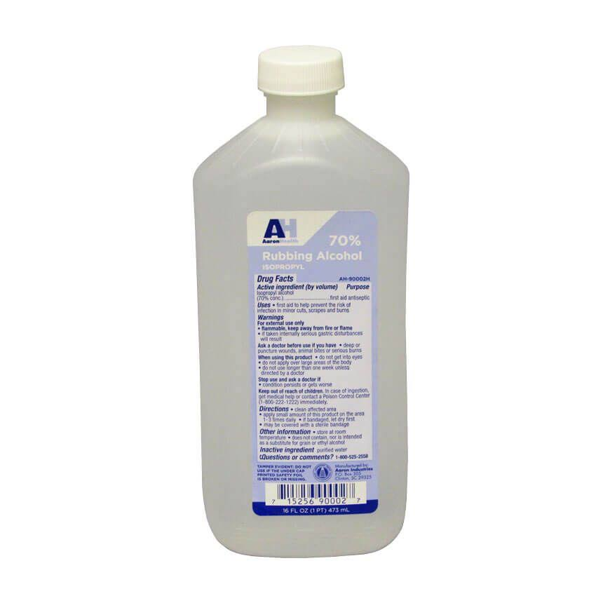 Alcohol ISO 70% a/in 16oz