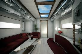 Extravagant Furniture In Red The Most Expensive RV World