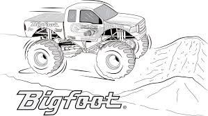 Monster Truck Coloring Pages Printable 217 | KHOABAOVE Free Tractors To Print Coloring Pages View Larger Grave Digger With Articles Monster Bigfoot Truck Coloring Page Printable Com Inside Trucks Csadme Easy Colouring Color Monster Truck Pages Printable For Kids 217 Khoabaove 28 Collection Of Max D High Quality Limited Batman Wonderful Pictures Get This Page